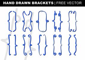 Desenhado mão Suportes Vector grátis