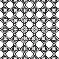 padrão de azulejo asiático floral abstrato vetor