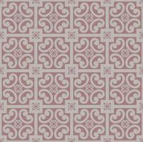 padrão floral abstrato muçulmano sem costura vetor
