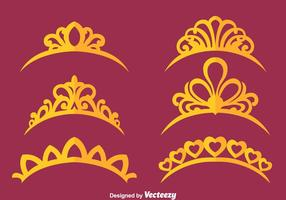Princess coroa vetores