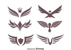 Coleção Selo águia Vectors
