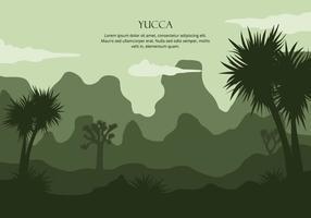 Background Yucca vetor