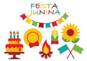 Festa Junina Ícone Vector