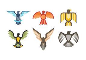 Livres elegante emblema de vetores