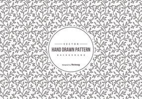 Padrão de fundo bonito desenhado mão