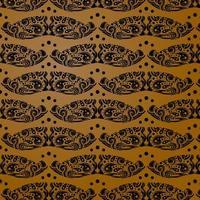 padrão batik indonesia para indústria de varejo de impressão vetor