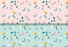 Livre Padrão Floral Vintage vetor