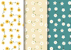 Padrão Floral Primavera livre vetor