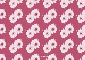Fundo da flor do pêssego Floral vetor