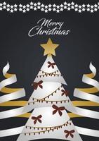 cartão de Natal de luxo