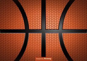 Background Basketball Textura Vector