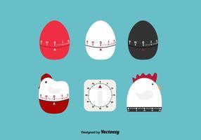Vetor temporizador de ovos