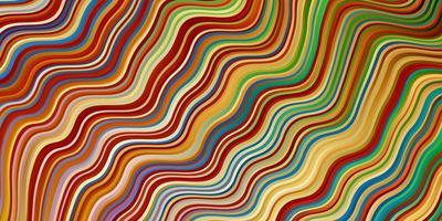 fundo multicolor com linhas irônicas.