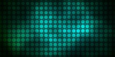 textura verde escura com círculos.