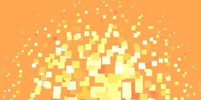 fundo laranja e amarelo com retângulos.