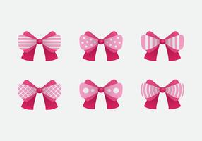 Vector Pink Ribbon cabelo rosa