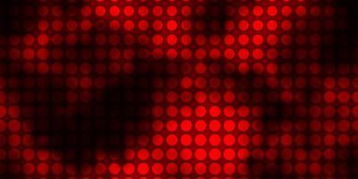 textura vermelha escura com círculos.