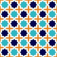 estrelas de padrão islâmico vetor
