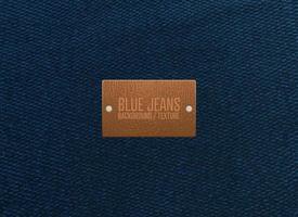 textura de jeans azul vetor