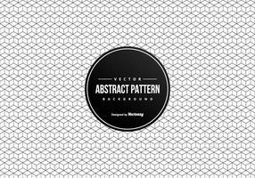 Abstrato geométrico 3D abstrato esquadra o teste padrão vetor