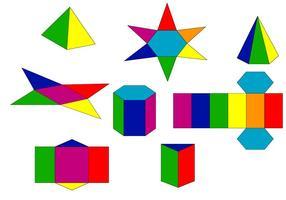 Projeto Prisma colorido vetor