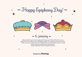 Epiphany Vector Background