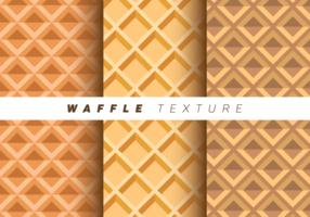 waffles Texture vetor