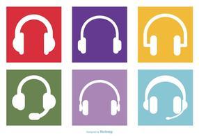 Headphone Coleção Ícone