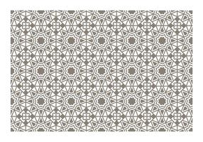 Vector padrão islâmico sem emenda