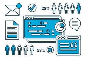 Livre Marketing Digital Elements Vector