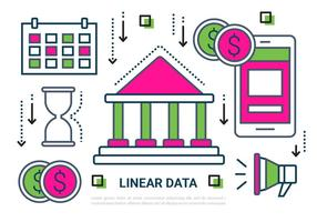 Dados livre Linear Elements Vector
