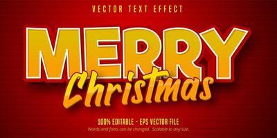 texto de feliz natal vetor