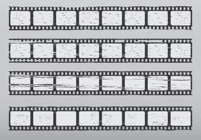 Quadro Grunge Filmstrip vetor