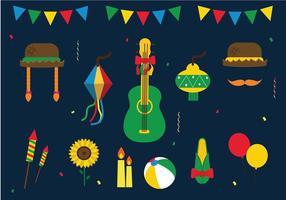 Festa Junina Vector grátis