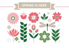 Livre da Primavera fundo da estação Vector