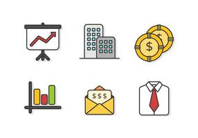 Livre Outstanding Business & inicialização vetores