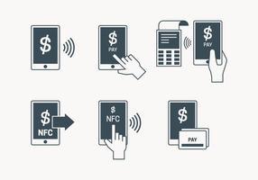 ícone pagamento NFC