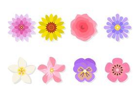 Vetores Flor planas