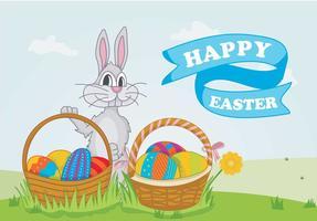Pattern Colorful Easter Egg Ilustração vetor