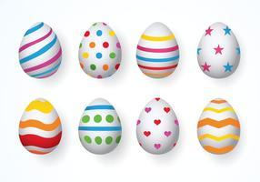 Páscoa Vector ovos