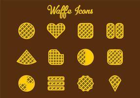 Bélgica Waffles vetor