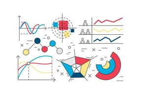 Linear Infográfico Elements Vector