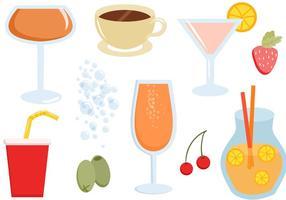Livre Bebidas Vectors