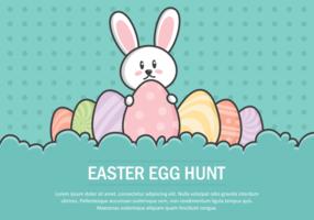 Easter Egg caça Ilustração vetor