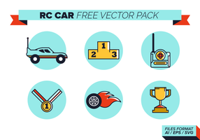 Rc Car grátis Pacote Vector