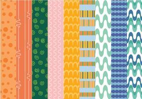 Livres padrões ornamentais vetores