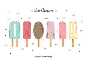 Vector Ice Cream Set