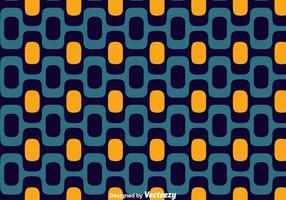 Azul e laranja Copacabana Seamless Vector Pattern