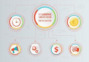Vector Infographic Ilustração