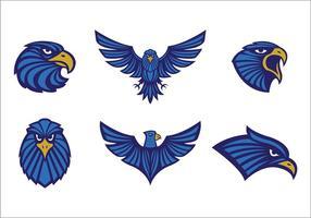 Logotipo livre das águias tribal vetor